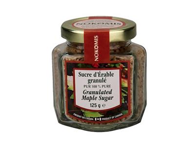 Sucre-d'érable-granulé-125-g