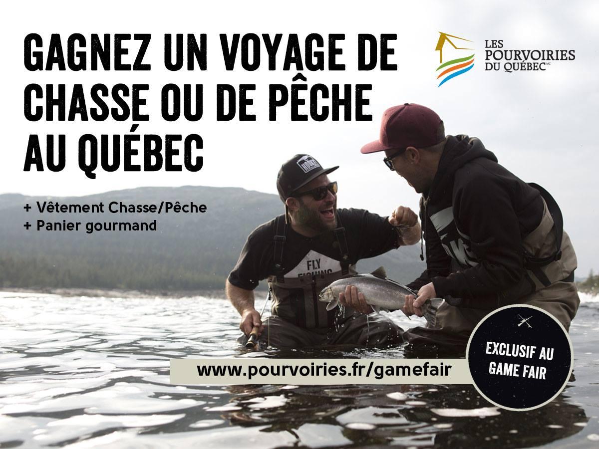 Concours Québec, Game Fair 2015